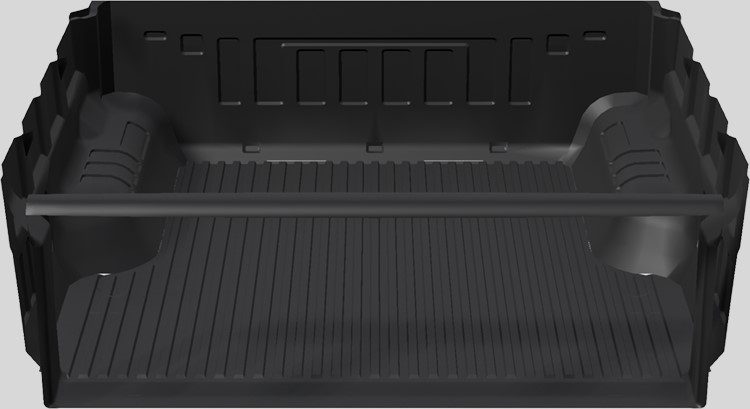 Under rail ute bed liner