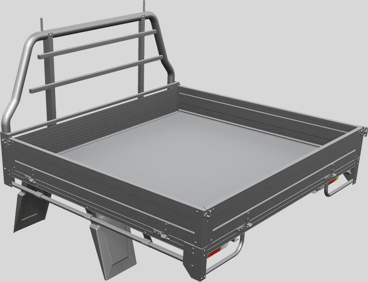 aluminium flat deck for ute
