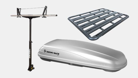 rhino rack roof rack accessories