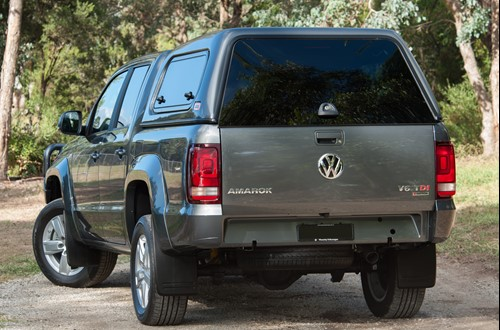 Classic Plus canopy on VW amarok