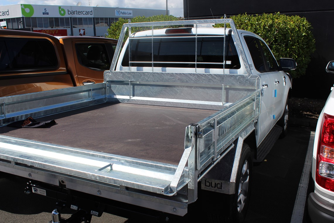 Ford Ranger with Flatdeck