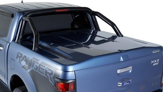 abs plastic painted ute lid with sportsbar