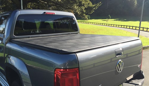 ute with soft tonneau cover
