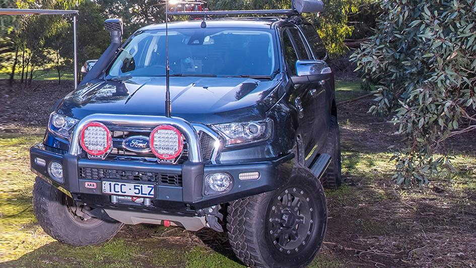 road ranger ute with arb 4x4 accessories