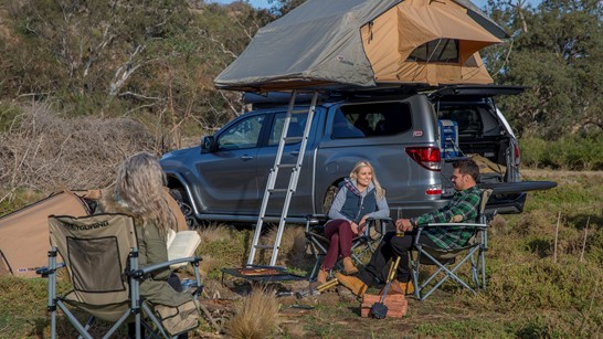 arb rooftop tent on mazda bt50
