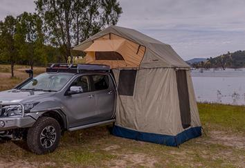 arb rooftop tent on isuzu d-max