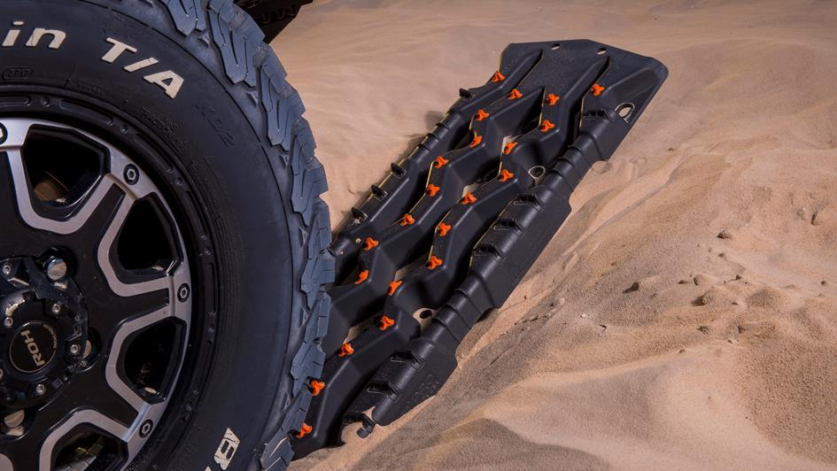 arb tred pro recovery tracks in the sand