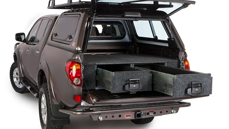 vehicle drawer system